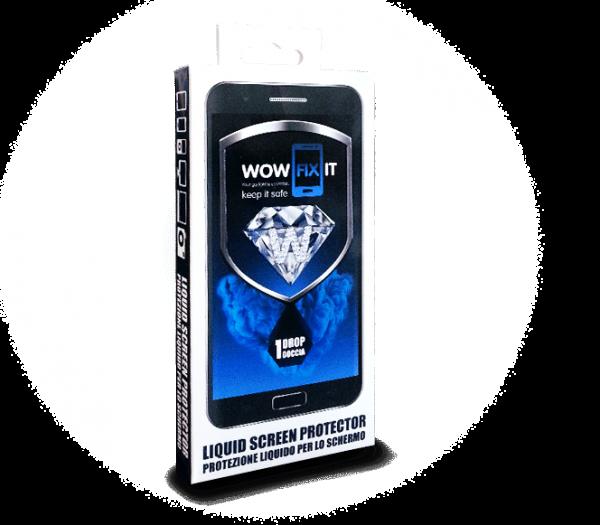 WOWFIXIT flüssiger Displayschutz for 2 Smartphones